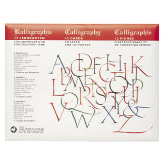 Brause Introduction to Calligraphy Lettering, Ref. B194