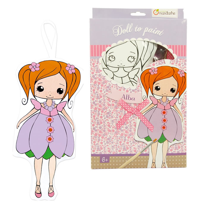 Avenue Mandarine Cloth Doll Painting Kits