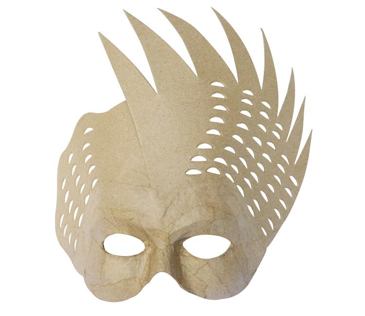 Decopatch papier mache figurines decopatch decoupage - Masque papier mache ...
