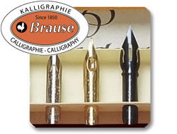 Brause Calligraphy Supplies
