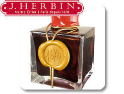 J. Herbin Sealing Wax, Inks and Pens